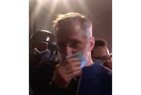 Mayor of Portland, Oregon, tear gassed by federal agents ...