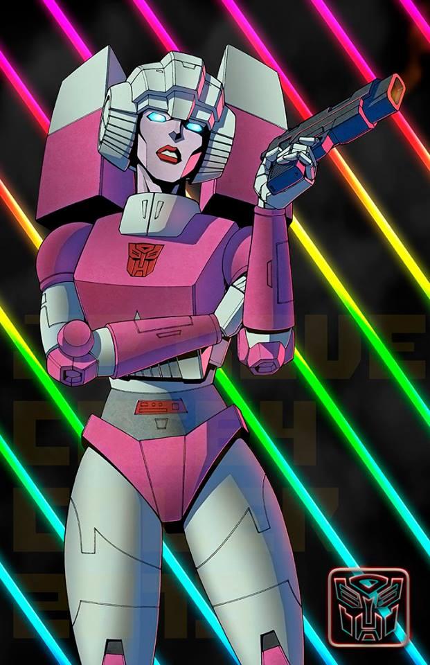 BotCon 2015 Artist Alley Transformers Propaganda JP Bove