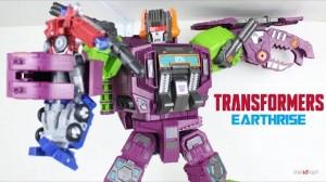 Transformers News: New Video Review of Transformers Earthrise Titan Class Scorponok