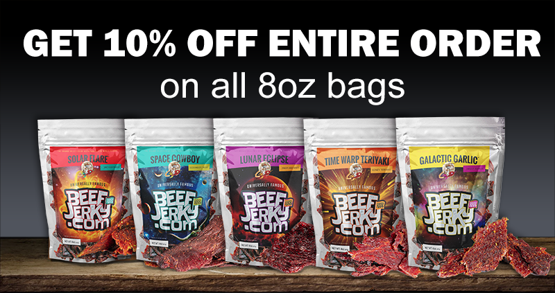 10% Off Beef Jerky from BeefJerky.com