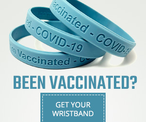 I've Been Vaccinated Wristband