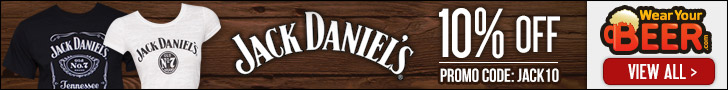 Use Code JACK10 for 10% off all Jack Daniels Apparel and Merch!