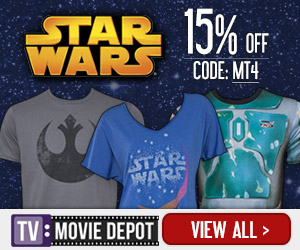 May the fourth be with you! 15% off all Star Wars