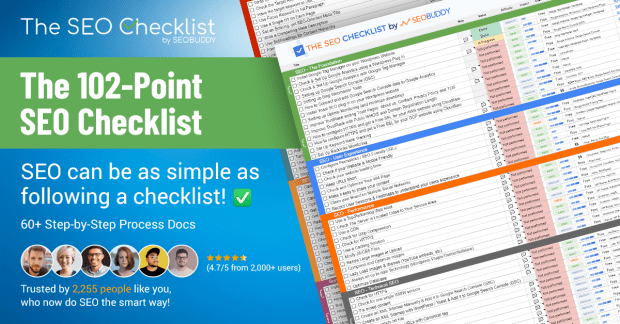 The 102-Point SEO Checklist