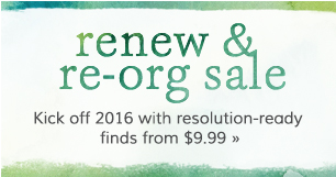 Renew & Re-org Sale