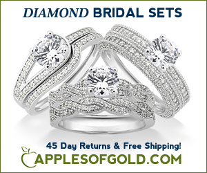 Diamond Bridal Sets - ApplesofGold.com