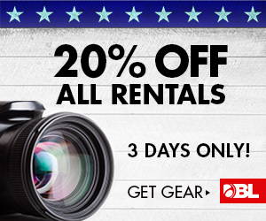 Get 20% Off All Rentals NOW