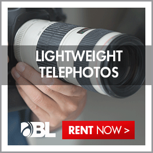 Rent Lightweight Telephotos