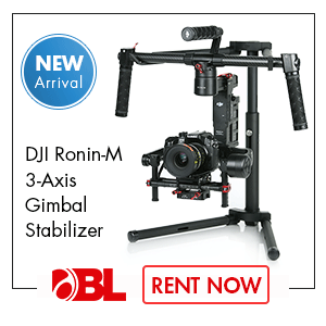 DJI RoninM Gimbal Stabilizer