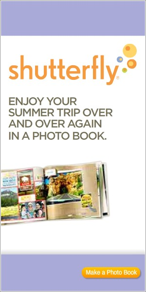 Shutterfly Photo Books 300x600