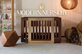 Begin life in style with modernnursery.com