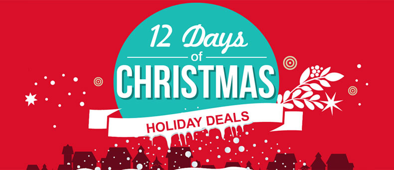 12 Days of Holiday 2015 Deals