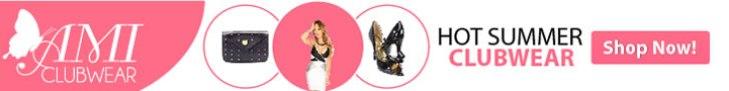 Get sizzling hot summer clubwear at AMIclubwear.com