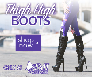 Shop AMIclubwear.com for great deals on fashionable Thigh-High Boots.