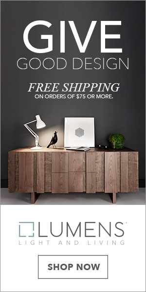Give the gift of good design! Free shipping on orders of $75 or more. Shop Now!