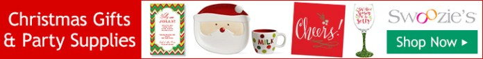 christmas gifts and christmas party supplies