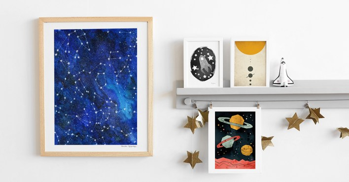 kids art from Minted