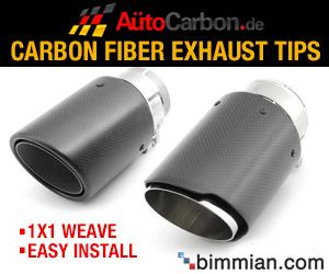 Carbon Fiber Exhaust Tips