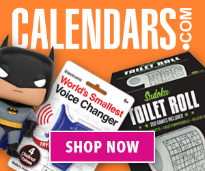 Shop Stocking Stuffers on Calendars.com