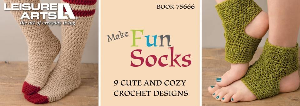 Make Fun Socks – 9 Cute & Cozy Designs to Crochet