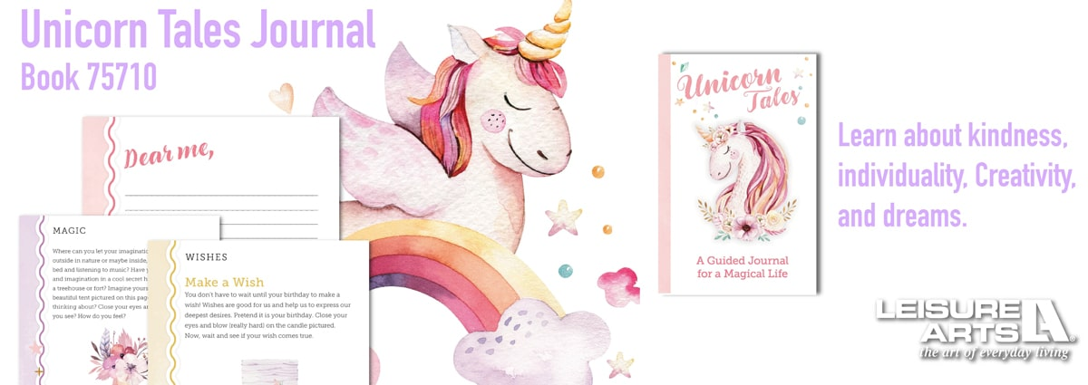 Unicorn Tales - A Guided Journal for a Magical Life