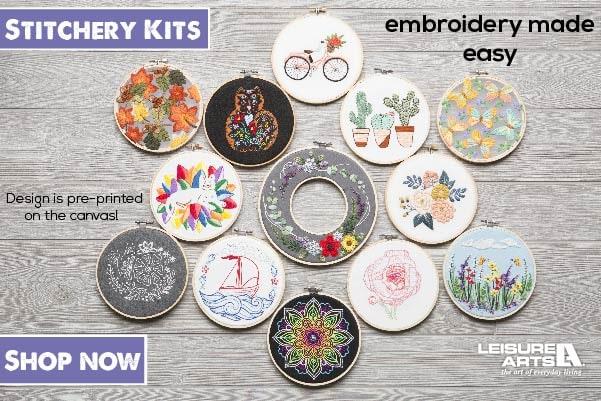 Mini Maker Stitchery Kits