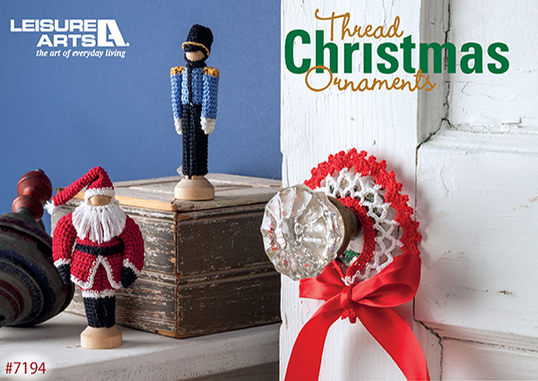 Thread Christmas Ornaments - 14 Easy Mini Decorations