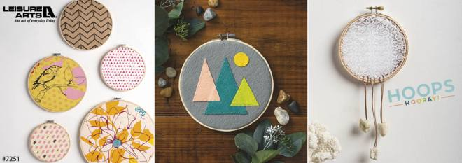 Hoops Hooray! - Creative Ideas for Embroidery Hoops and More