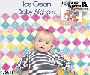 knit baby afghans