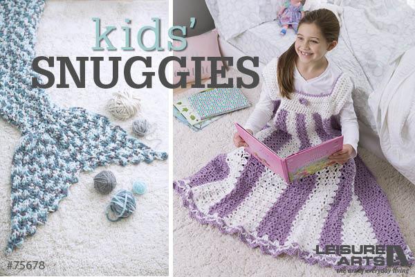 Kids' Snuggies - 7 Cozy & Fun Blankets By Lisa Gentry
