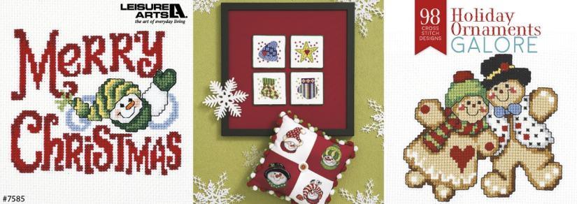 Holiday Ornaments Galore – 98 Cross Stitch Designs