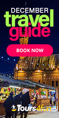 December (Xmas) Travel Guide - World's best holiday markets - include christmas-themed products for last-minute shoppers, Tropical escapes, Northern Lights (Las Vegas, Frankfurt Christmas Markets, Los Angeles, Jackson Hole, New York, Hawaii)
