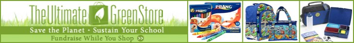 Help fundraise for schools in need while shopping at The Ultimate Green Store.com!