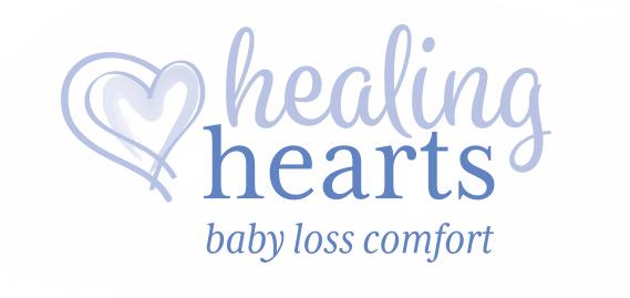 Healing Hearts Baby Loss Comfort - Logo