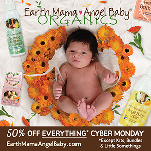 It's Cyber Monday at Earth Mama Angel Baby!
