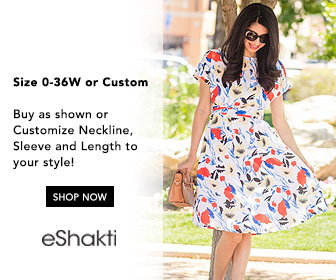 eshakti, custom clothing, womens fashion, womens dresses, plus clothing, day dresses