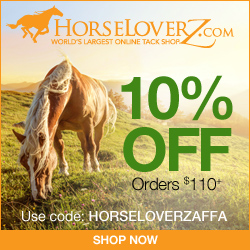 10% Off $110+ at HorseLoverZ.com with code HORSELOVERZAFFA