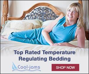 Cool-jams Temperature Regulating Bedding for Better Sleep