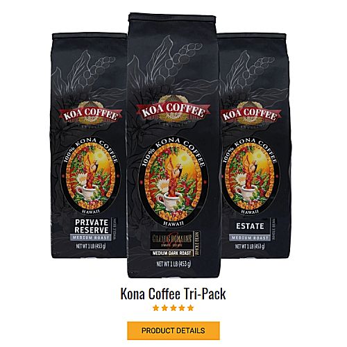 Kona Coffee Tripack
