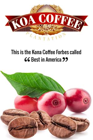 100% Kona Coffee