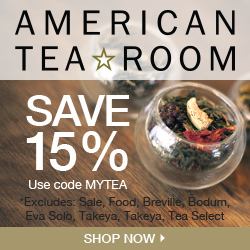 15% Off at American Tea Room. Code: MYTEA