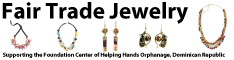 Fair Trade Jewelry Supporting orphanage in Dominican Republic