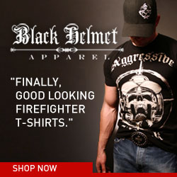 Firefighter Shirts, Hats, and more. Black Helmet Apparel