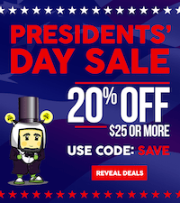 20% OFF on $25 or more