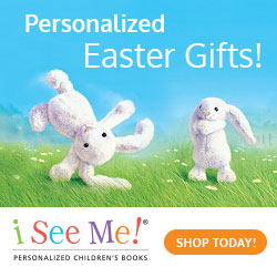 Personalized Easter Gifts at ISeeMe!