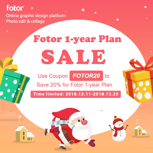 Fotor - Christmas Sale