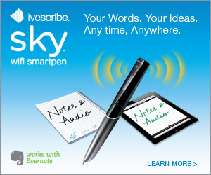 Now available - NEW Sky wifi smartpen. Your Words. Your Ideas. Any time. Anywhere.