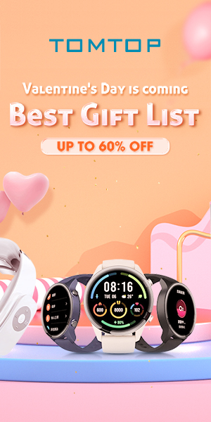 Get Up to 60% OFF Gift List @Tomtop.com