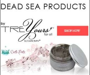 10% off dead sea spa products
