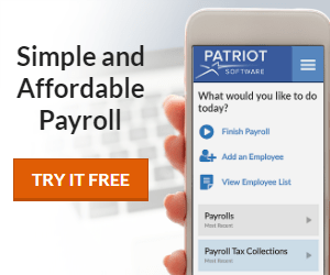 SIMPLE AFFORDABLE PAYROLL! Try it FREE!